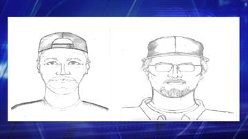 Composite sketches of suspect By Jennifer Thomas