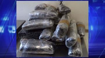 More than 27 pounds of meth were discovered and removed from a smuggling vehicle by CBP officers assigned to the DeConcini crossing. By Jennifer Thomas