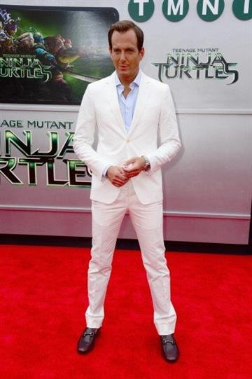 """WESTWOOD, CA - AUGUST 03:  Actor Will Arnett attends Paramount Pictures' """"Teenage Mutant Ninja Turtles"""" premiere at Regency Village Theatre on August 3, 2014 in Westwood, California.  (Photo by Frazer Harrison/Getty Images) By Frazer Harrison"""