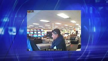 Suspect in Phoenix Rent-A-Center robbery By Jennifer Thomas