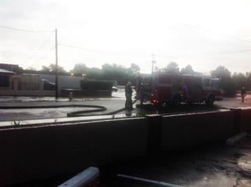 Firefighters responded to an electrical fire at a Phoenix nursing home. By Jennifer Thomas
