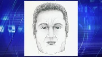 Composite sketch of suspect By Jennifer Thomas