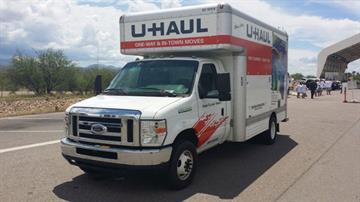 U-Haul used to transport the individuals. By Jennifer Thomas