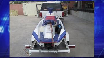 An SUV and the watercraft it was towing were both found to be containing marijuana. By Jennifer Thomas