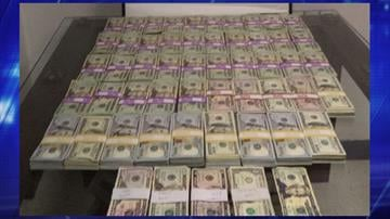 More than $190,000 of unreported currency was seized by officers at the Mariposa crossing. By Jennifer Thomas