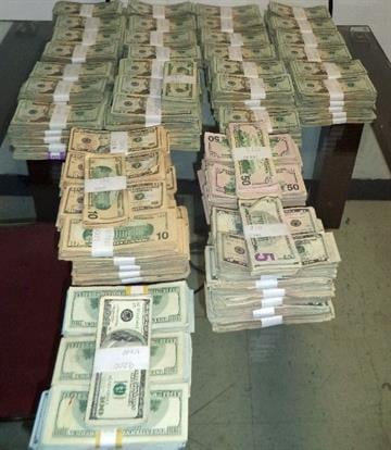 More than $420,000 in unreported currency was removed and seized from a suspect vehicle attempting to enter Mexico through the DeConcini crossing in Nogales, Ariz. By Jennifer Thomas