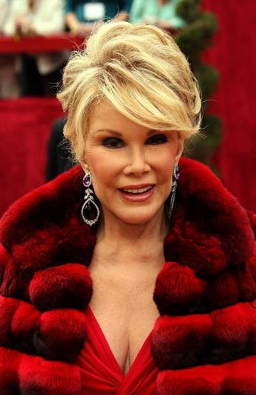 HOLLYWOOD - FEBRUARY 25:  TV personality Joan Rivers attends the 79th Annual Academy Awards held at the Kodak Theatre on February 25, 2007 in Hollywood, California.  (Photo by Frazer Harrison/Getty Images) By Frazer Harrison
