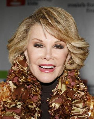 NEW YORK - NOVEMBER 19:  Comedian Joan Rivers attends the 10th anniversary celebration of Rosie's For All Kids Foundation at Marriott Marquis November 19, 2007 in New York City.  (Photo by Amy Sussman/Getty Images) By Amy Sussman