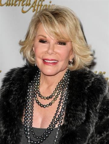 """NEW YORK - APRIL 17: Joan Rivers attends the opening night of """"A Catered Affair"""" at the Walter Kerr Theater on April 17, 2008 in New York City. (Photo by Andrew H. Walker/Getty Images) By Andrew H. Walker"""