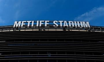 EAST RUTHERFORD, NJ - SEPTEMBER 14:  MetLife Stadium is seen prior to a game between the New York Giants and the Arizona Cardinals on September 14, 2014 in East Rutherford, New Jersey.  (Photo by Alex Goodlett/Getty Images) By Alex Goodlett