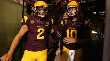 Bercovici (2) will be stepping into Kelly's (10) starting role against UCLA. By Christian Petersen