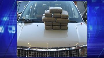 More than $385,000 worth of cocaine was seized by officers at the Mariposa crossing. By Jennifer Thomas
