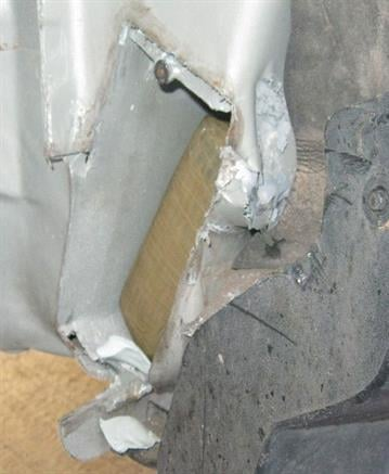 CBP officers located nearly 37 pounds of cocaine from within a smuggling vehicle's rocker panels By Jennifer Thomas