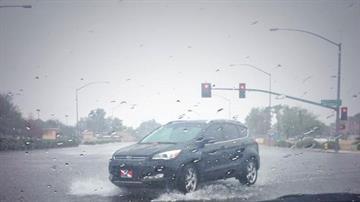 Rain in Mesa By Jennifer Thomas