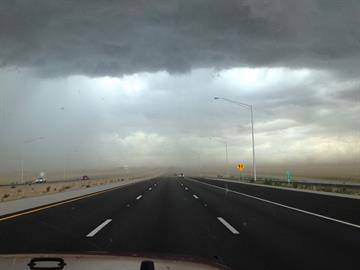 Rain near Loop 303 in Surprise By Jennifer Thomas