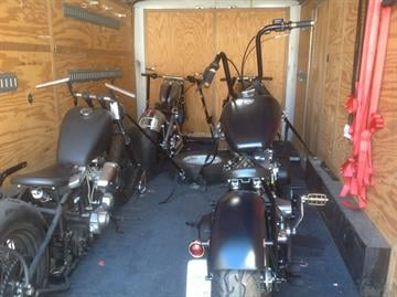 Numerous motorcycles, parts and equipment were recovered or seized during Operation Ultra Light. By Jennifer Thomas