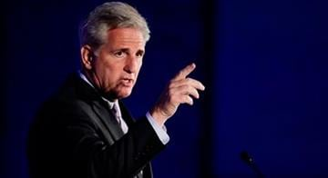 House Majority Leader Kevin McCarthy speaks at the California GOP convention on Saturday, Sept. 20, 2014, in Los Angeles. By Jennifer Thomas