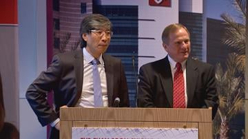 Dr. Patrick Soon-Shiong (left) and Robert L. Meyer (right) By Chloe Nordquist