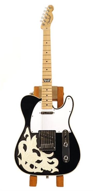 Lot 119. Fender Custom Shop Waylon Jennings Telecaster By Mike Gertzman