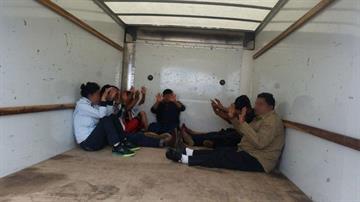 Immigrants concealed in Penske truck By Jennifer Thomas