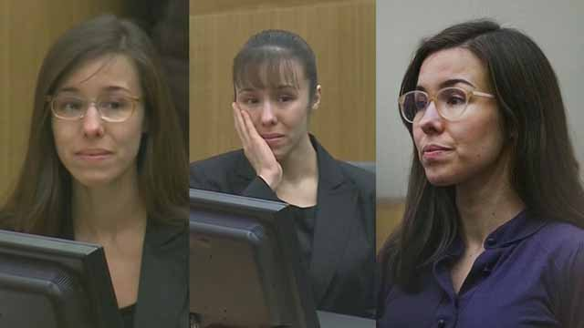 Jodi Arias during her trial (Source: 3TV/CBS 5 file photo)