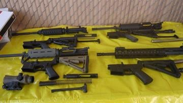 Multiple weapons were seized on Monday, along with ammunition and ammo cartridges by CBP officers assigned to the Port of Douglas, Arizona. By Jennifer Thomas