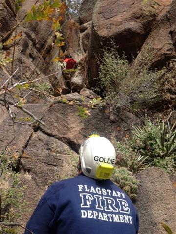 Mount Elden rescue on Oct. 26 By Jennifer Thomas