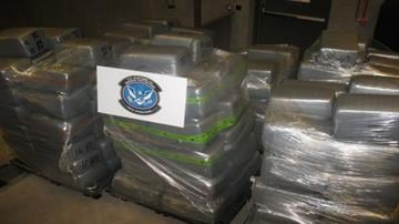 A total of 200 bundles of marijuana were removed from a commercial load of electrical goods. By Jennifer Thomas