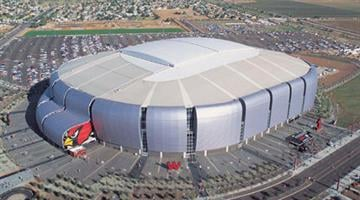 University of Phoenix Stadium By Catherine Holland