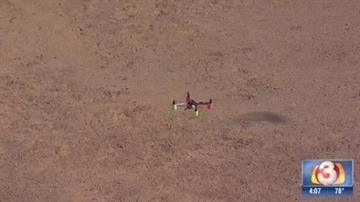 A drone similar to this one was reported about 12 miles from Sky Harbor International Airport Thursday morning. By Jennifer Thomas
