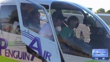 Sky Kids program allows special kids to take flight this holiday season! By Tami Hoey
