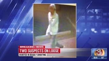 Photos released of shooting suspects By Tami Hoey