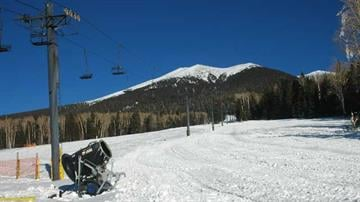 Arizona Snowbowl By Mike Gertzman