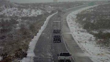 Interstate 40 near Kingman By Jennifer Thomas
