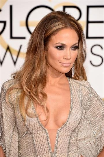 BEVERLY HILLS, CA - JANUARY 11:  Actress Jennifer Lopez attends the 72nd Annual Golden Globe Awards at The Beverly Hilton Hotel on January 11, 2015 in Beverly Hills, California.  (Photo by Jason Merritt/Getty Images) By Jason Merritt