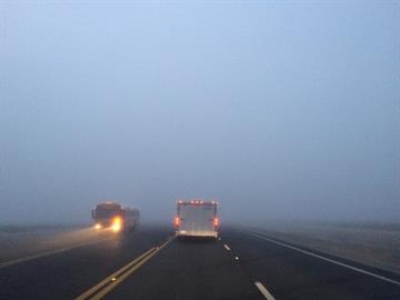 Fog in Casa Grande By Jennifer Thomas
