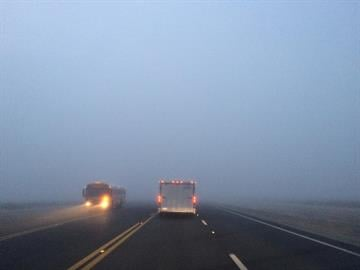 Fog in Casa Grande By Jennifer Thomas
