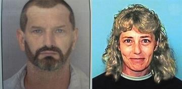 New photo composites depicting how John McCluskey and Casslyn Welch may now appear. It is believed McCluskey has dyed his hair dark and has a dark beard. Welch may now have blond hair and appears to be thinner than in the photo. By Bryce Potter
