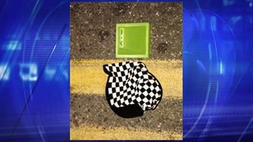 The woman was wearing this hat when she was struck by a vehicle. By Jennifer Thomas