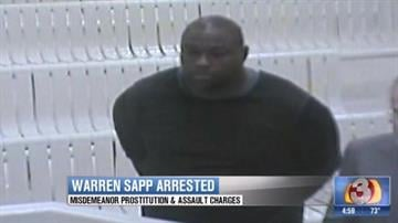 Warren Sapp in court Feb. 2 By Jennifer Thomas