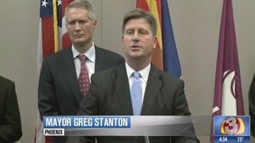 Phoenix Mayor Greg Stanton By Jennifer Thomas