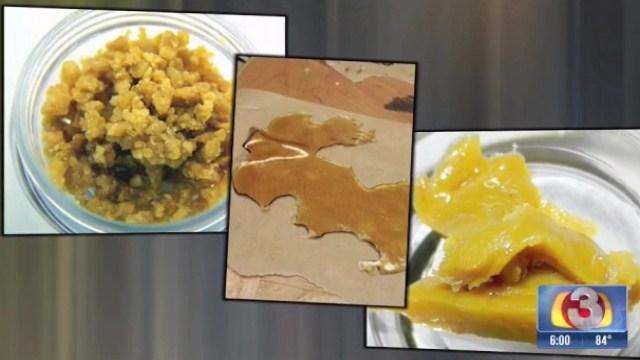 Marijuana wax can look like honey, ear wax or even peanut butter.
