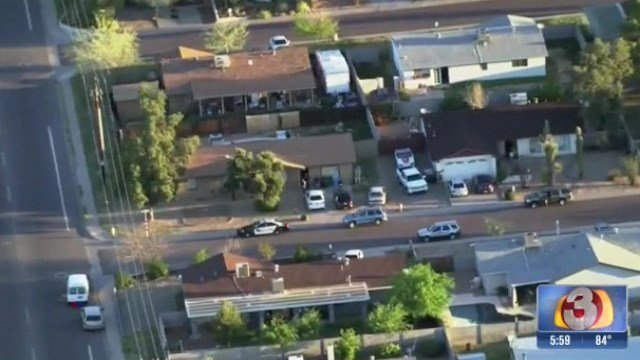 Peoria police found marijuana and marijuana wax inside a home near 15th Avenue and Union Hills Drive in Phoenix. (Source: 3TV)