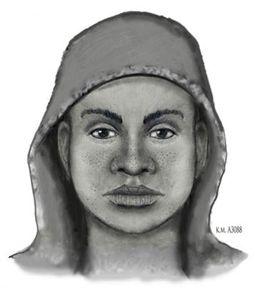 Sketch of suspect who took female victim's cellphone By Jennifer Thomas