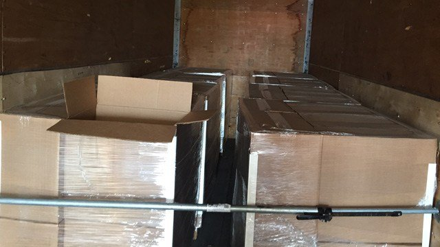 More than 4,610 pounds of marijuana in this shipment were seized by DPS officers Thursday.