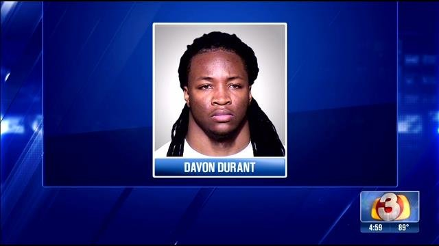 Davon Durant pleaded not guilty in an alleged domestic violence incident.