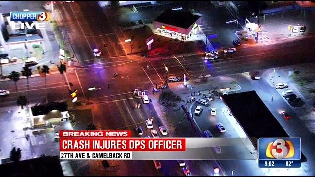 Dps Officer Involved In Collision In Phoenix Tucson News Now