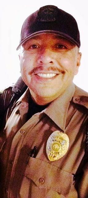 Officer Alex Yazzie