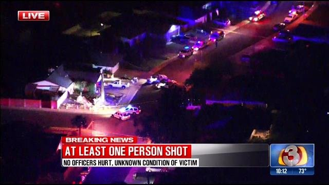 A confrontation at an ATM ended in a deadly officer-involved shooting. (Source: KPHO/KTVK)