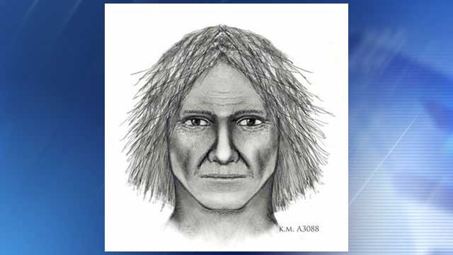 Suspect sketch released shortly after the murder (Source: Phoenix Police Department)